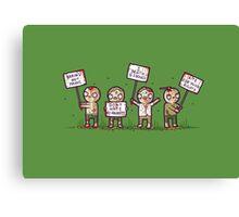 Zombie lives matter! Canvas Print