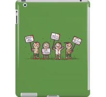 Zombie lives matter! iPad Case/Skin