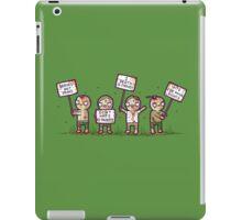 Zombie lives matter! iPad Case/Skin