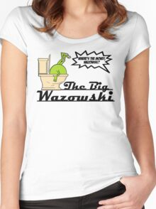 The Big Wazowski Women's Fitted Scoop T-Shirt