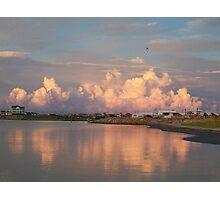 cumulus beyond hatteras Photographic Print