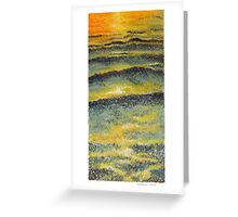 Evening Reflect Greeting Card