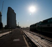 Looking East from Inside the Union Station Platforms by Gary Chapple