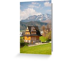 Highlands style building Greeting Card