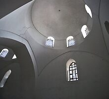 Mosque in Istanbul by Glennis  Siverson