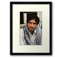 Afghan Community Health worker Framed Print