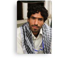 Afghan Community Health worker Canvas Print