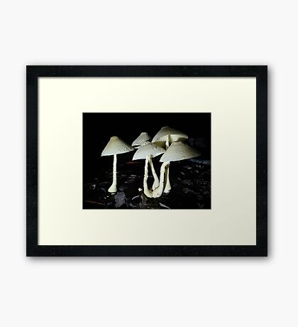 BUTTER YELLOW Framed Print