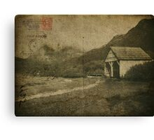 Postcards from the edge. Canvas Print