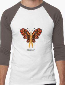 MS Multiple Sclerosis Warrior Tee Men's Baseball ¾ T-Shirt