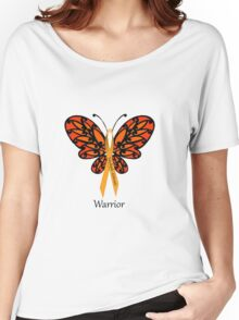 MS Multiple Sclerosis Warrior Tee Women's Relaxed Fit T-Shirt