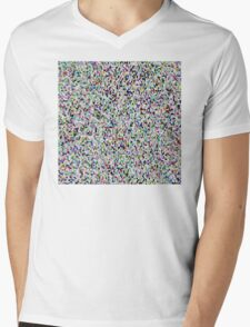 The Duck Flew The Polka Mens V-Neck T-Shirt