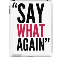 "MOVIES - Pulp Fiction ""Say What Again"" iPad Case/Skin"