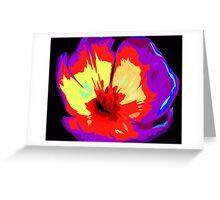 Multi-colour Pop Tulip #3 Greeting Card