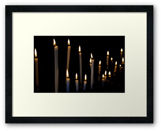 You Can Count On Me To Light A Candle For You... by Ainsley Kellar Creations