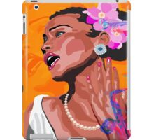 JAZZ SINGER & BAND iPad Case/Skin