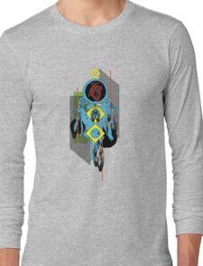heart dreamcatcher collage Long Sleeve T-Shirt