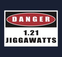 WARNING: 1.21 Jiggawatts! Kids Tee