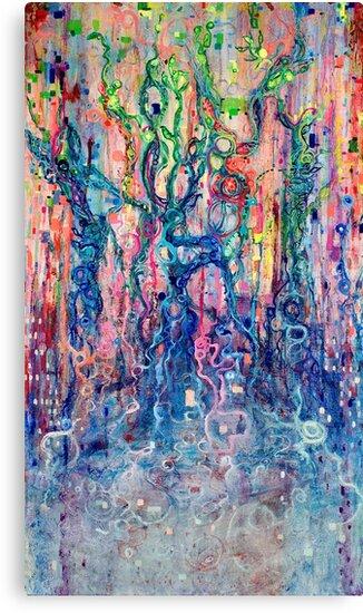 Dreams of Awakened Souls (View large) by Regina Valluzzi