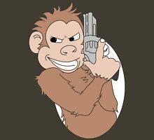 Monkey With Handgun - Coloured Unisex T-Shirt