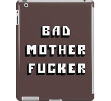 "MOVIES - Pulp Fiction ""Bad Motherf*cker"" iPad Case/Skin"