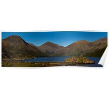 Wast Water Panoramic Poster