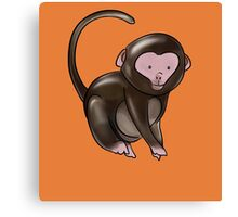 Cute Monkey Design Canvas Print
