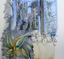 Arezzo 2 - Italian Memory Drawing by Richard Sunderland