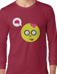 Zombie Thought Long Sleeve T-Shirt