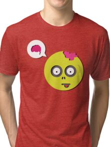 Zombie Thought Tri-blend T-Shirt