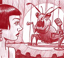 Weevil comic night at the club by Mike Cressy