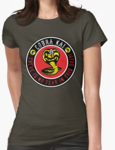 There is no fear in this dojo! Womens Fitted T-Shirt