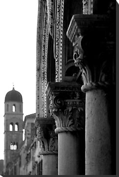 Column Detail, Sponza Palace by Matthew Walters