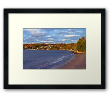 Fall Colors- Door County Wisconsin Framed Print