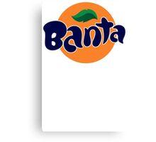 Banta Parody Joke Mens T-Shirt Banter Bantz Funny Fanta Wavey garms Lad unilad Canvas Print