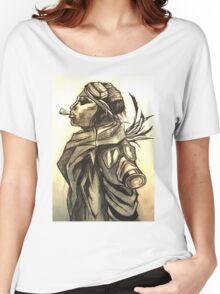 Smoking Woman Women's Relaxed Fit T-Shirt