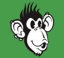 Rocking Monkey One Piece - Short Sleeve