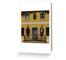 Take a look to the façade!! Greeting Card