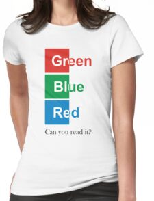 RGB Womens Fitted T-Shirt