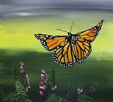 Monarch Landing by Jack G Brauer