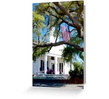Fellowship Under The Stars And Stripes - Murrells Inlet, South Carolina USA 2015 Greeting Card
