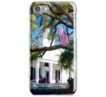 Fellowship Under The Stars And Stripes - Murrells Inlet, South Carolina USA 2015 iPhone Case/Skin