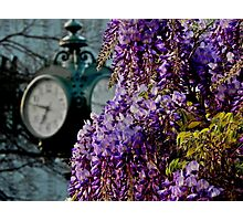 Doese Anyone Really Know what Time it is? Photographic Print