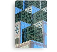 Angled Reflections Metal Print