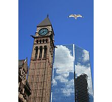 Refected Clouds Photographic Print