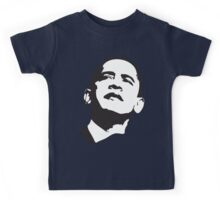 Womens Barack Obama 2012 Kids Tee