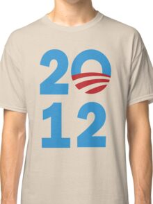 Barack Obama 2012 Women's Shirt Classic T-Shirt
