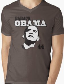 Barack Obama 44th President Mens V-Neck T-Shirt