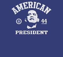 Women's American President Obama Womens Fitted T-Shirt