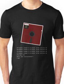 Disk Failure Unisex T-Shirt